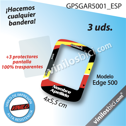 Garmin Edge 500 vinilos adhesivos, pegatinas garmin, protector garmin, protector gps garmin, Garmin edge stickers , garmin edge 500 stickers, garmin 500 stickers, garmin decals, garmin protection,