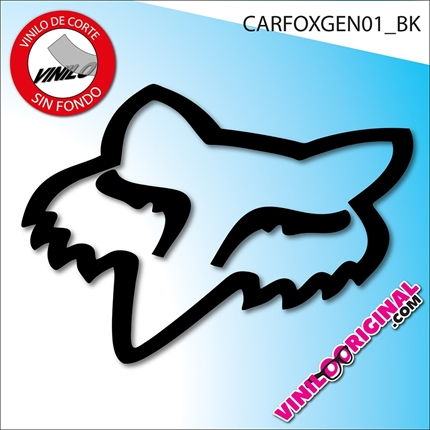pegatinas vinilo adhesivo fox racing stickers decals