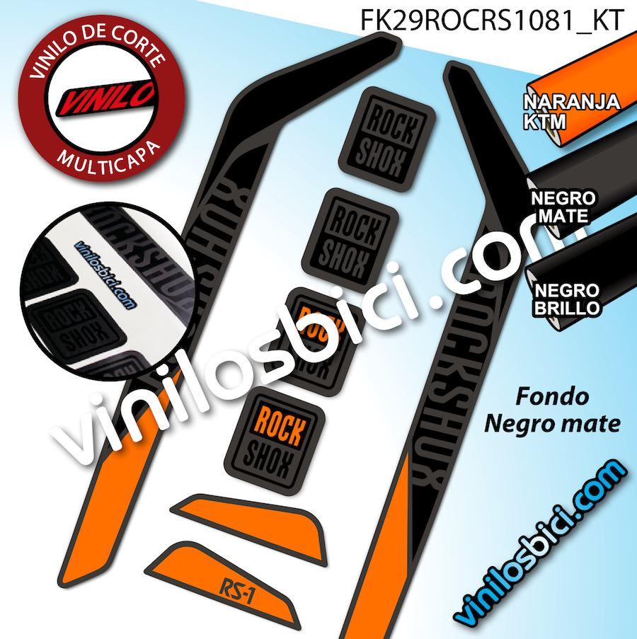 rock shox rs1 vinilos adhesivos horquilla 29 modelo. Black Bedroom Furniture Sets. Home Design Ideas
