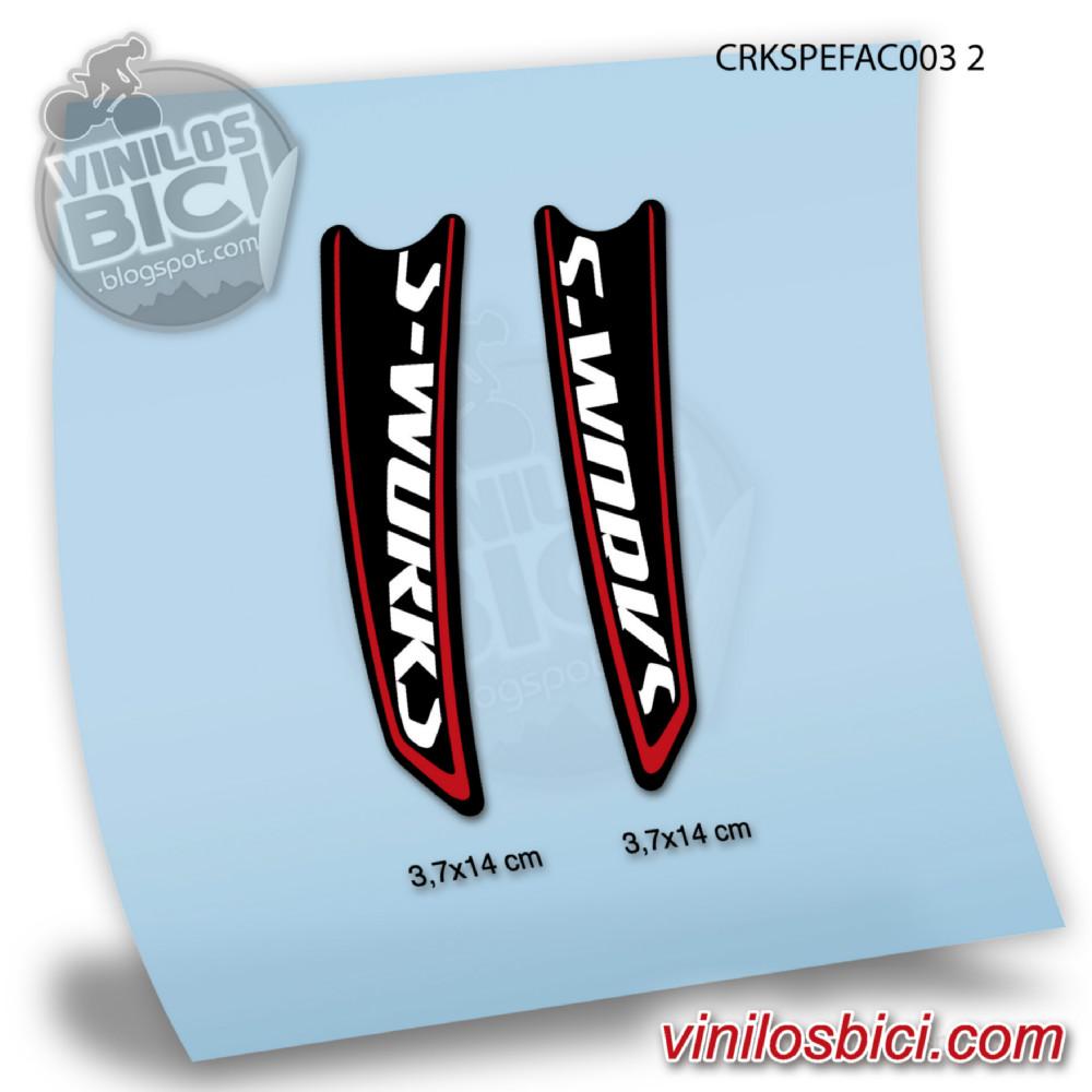 Specialized s works vinilos para bielas for Vinilos para piezas
